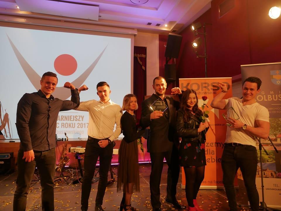 Studio Mocy Drużyną Roku Mariusz Sportowcem Roku