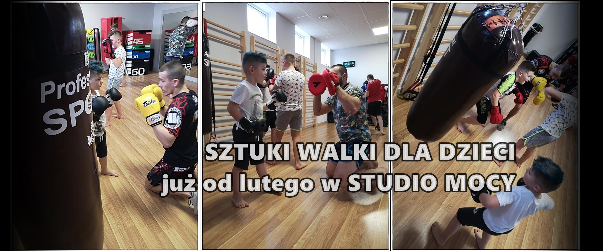 Sztuki walki dla najmłodszych w Studio Mocy Kolbuszowa