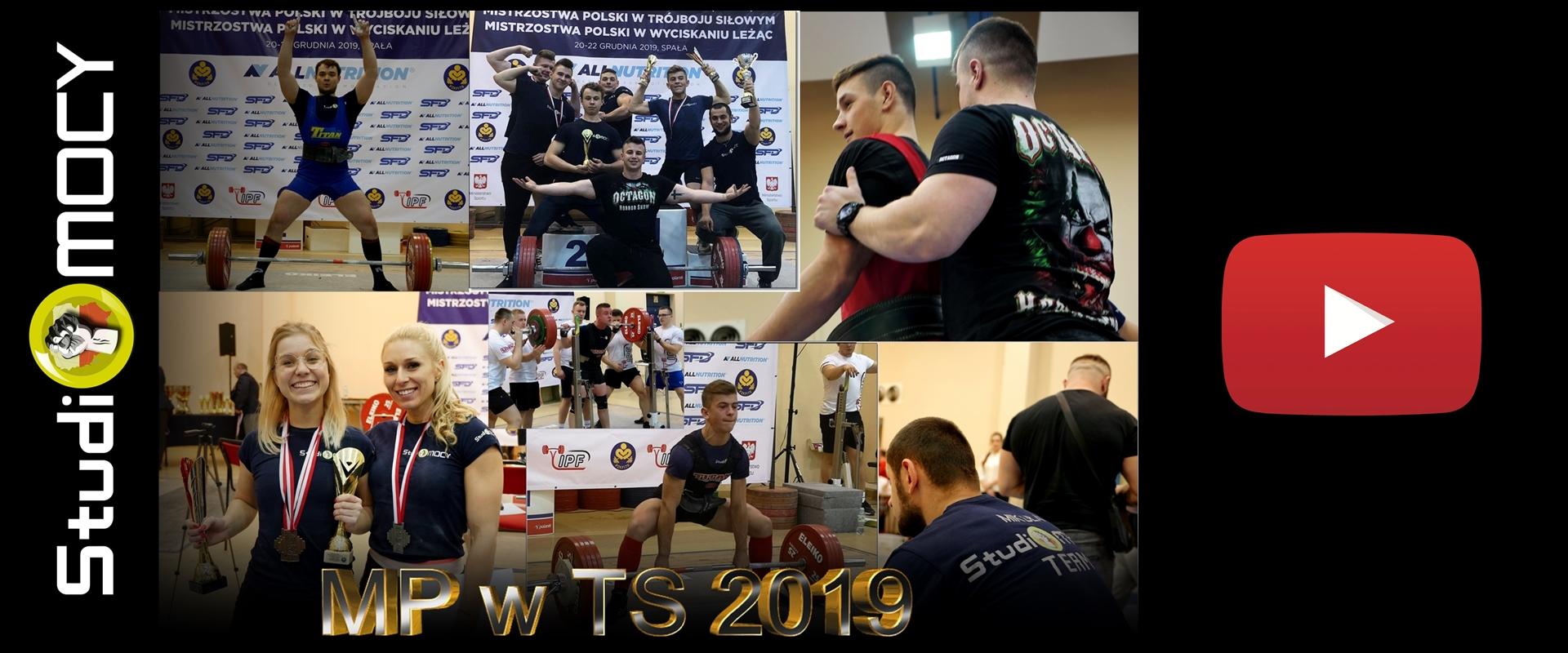 Studio Mocy na Mistrzostwach Polski w Trójboju Siłowym Spała 2019