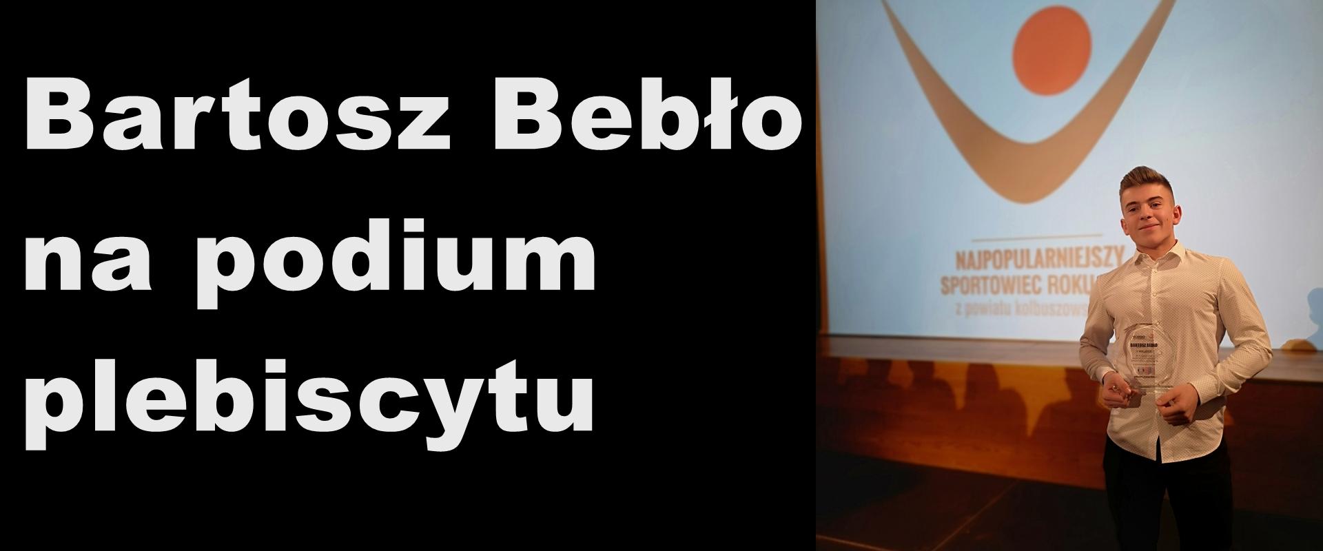 Bartosz Bebło zajmuje 2 miejsce w plebiscycie sportowym